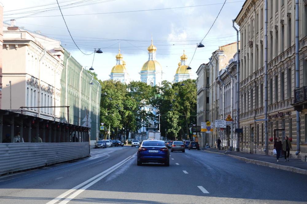 Calle de San Petersburgo centro
