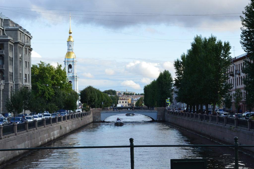 Canal de la Venecia del Norte, San Petersburgo