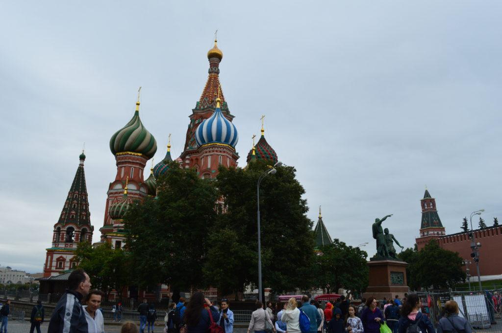 Catedral de San Basilio en Moscú