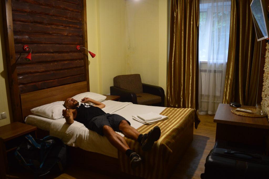 Nuestro hotel en Ulán Udé