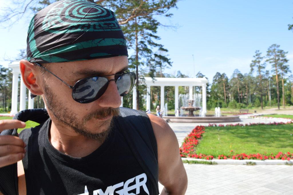 Tomi en el Parque Oreshkovo