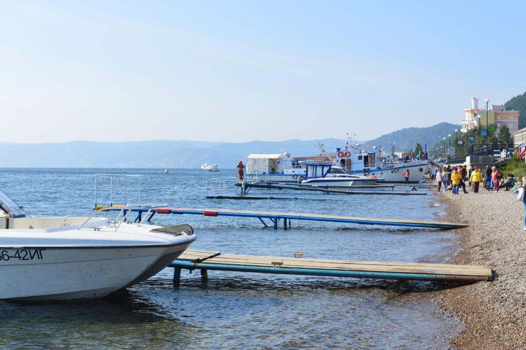 Lago Baikal Listvianka
