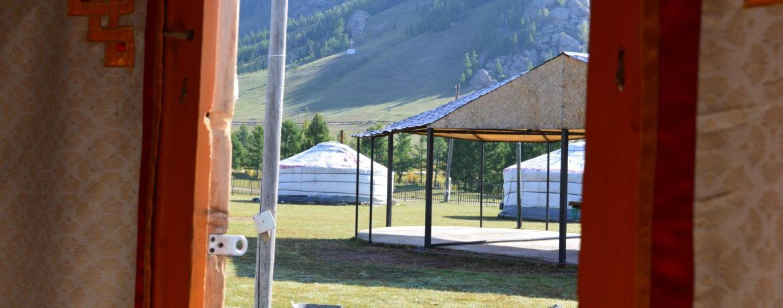 Ger en Parque Gokhi Terejl en tour a Mongolia