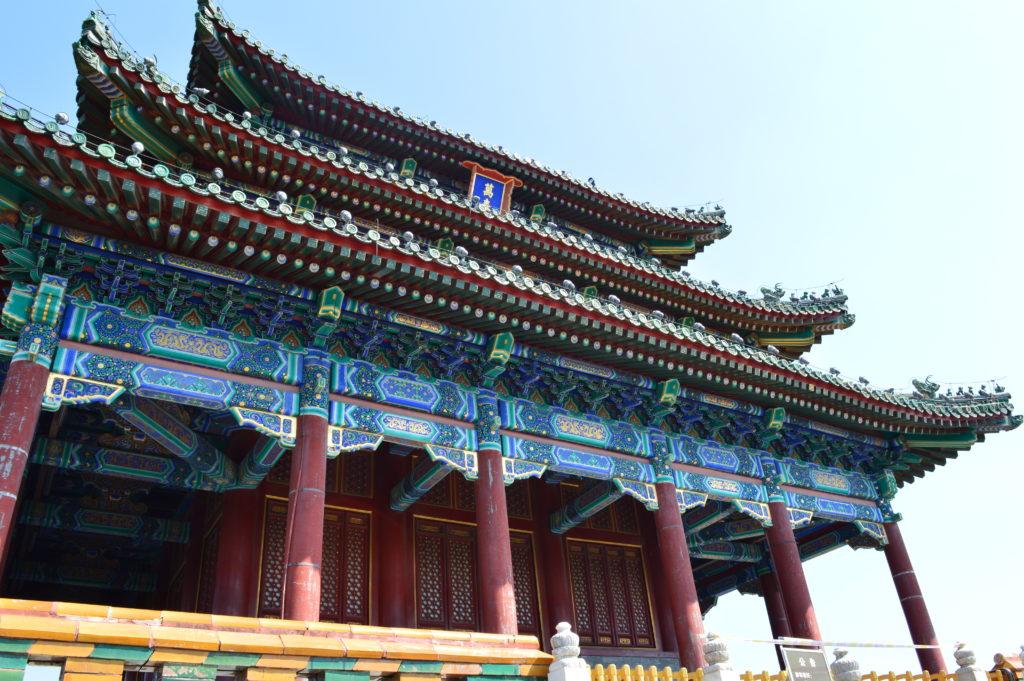 Templo en el centro de Beijing