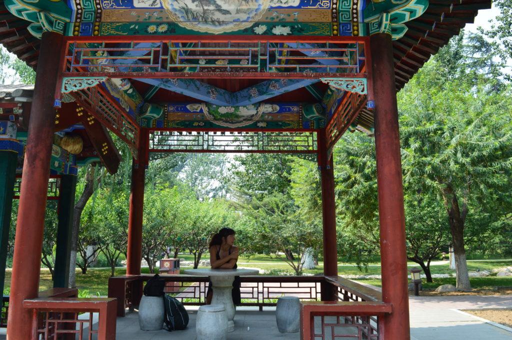 Los parques de Beijing molan mucho