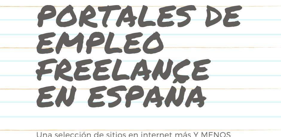 Portales de empleo en España