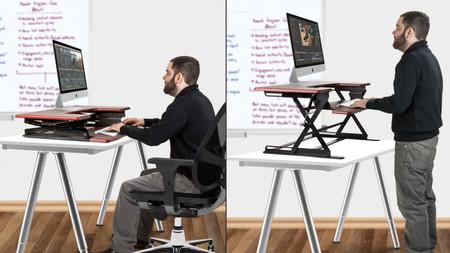 Trabajar de pie o sentado
