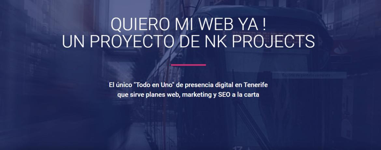 NK Projects diseño y marketing en Tenerife